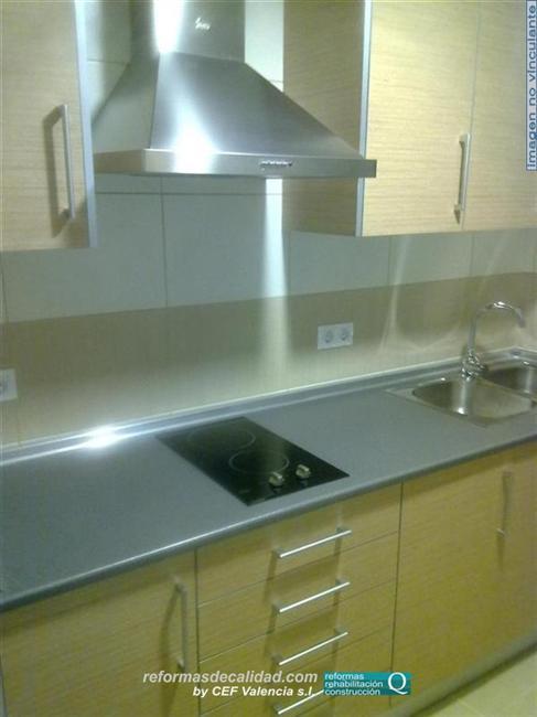 M s fotos de cocinas reformadas y con muebles realizados en colores - Cocinas con colores vivos ...