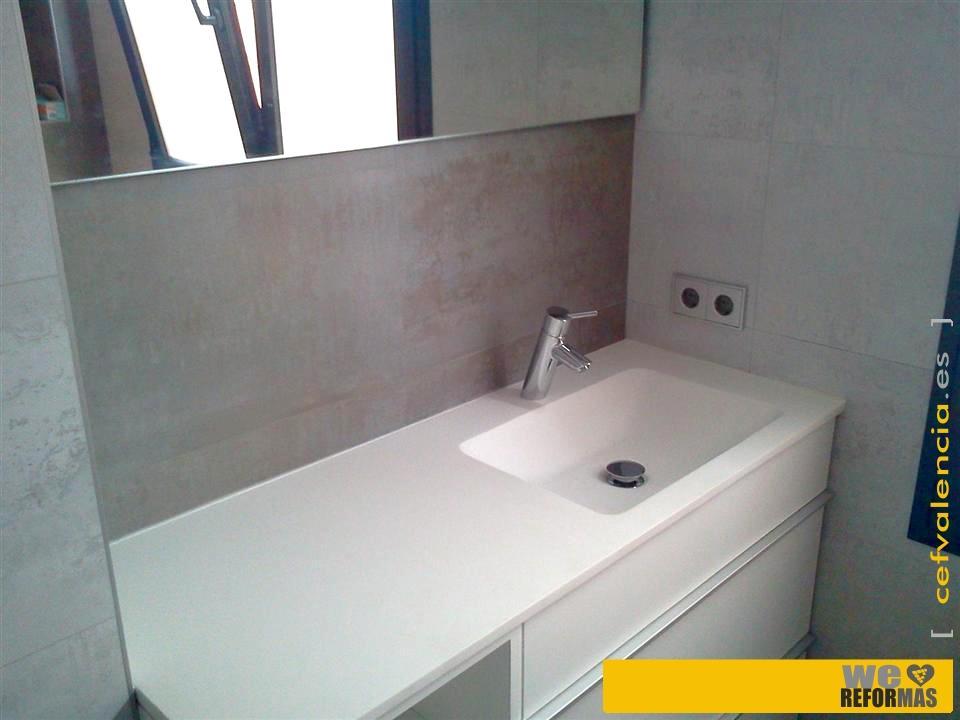 Fotos ba os realizados en reforma completa de piso en valencia - Banos en valencia ...