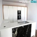 Cocina de diseño realizada dentro de trabajos de construcción de vivienda en Albal Valencia