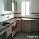 Reforma de diseño en rehabilitación de casa realizada en Manises Valencia con materiales de Saloni y cocina de Nobilia