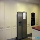 Gran zona de almacenamiento en cocina grande realizada en construcción de vivienda en Anna de Valencia