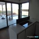 Vista hacia exterior desde cocina realizada en Albal Valencia