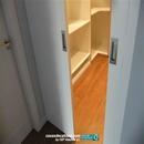 Detalle puertas acceso a vestidor en habitación principal