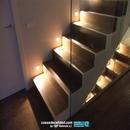 Arranque escalera iluminada