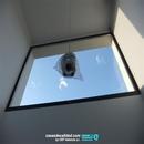 Vista de ventanales en zona doble altura comedor