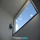Vista de ventanal en zona de doble altura