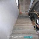 Detalle maestreado de escaleras previo a colocación de revestimientos