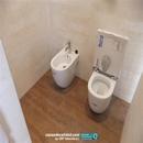 Montaje de sanitarios en baño principal