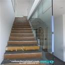 Montaje de vidrios con protección de pavimentos