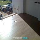Vista de montaje de carpinterías y pavimentos