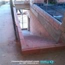 Encintado previo para ejecución de nivelación suelo radiante