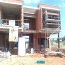 Vista de fachada principal previa a trabajos finales de revestimientos