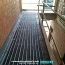 Instalación de tuberías de suelo radiante en planta primera
