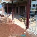 Compactación suelo en zona porche