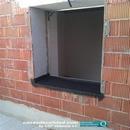Impermeabilización de zonas de vierteaguas en ventana hacia patio