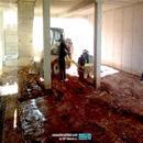 Trabajos de excavación y extendido materiales en sótano