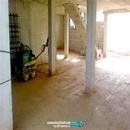 Compactación de materiales granulares en sótano