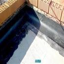 Detalle de impermeabilización en cubierta encuentro con petos