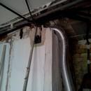 foto1322 Ejecución-Fontanería / Extracción de gases cocina con tubo aluminio flexible