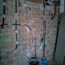 foto1323 Ejecución-Electricidad / Instalación de tubos en zona cocina