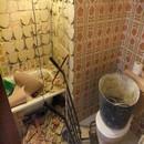 foto1342 Ejecución-Demoliciones / Retirada completa de alicatados: cerámico más antiguo material agarre