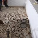 foto1346 Ejecución-Demoliciones / Picado de solera en balcón para posterior nivelación