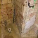 foto1352 Ejecución-Fontanería / Preparación de elementos de fontanería en baño