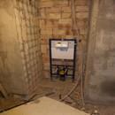 foto1364 Ejecución-Fontanería / Instalación de estructura de Roca para inodoro suspendido