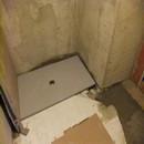 foto1378 Ejecución-Fontanería / colocación de plato de ducha de resina extra fino