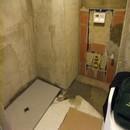 foto1379 Ejecución-Albañilería / Plato de ducha colocado en baño