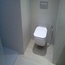 foto1408 Baño-Final / Inodoro suspendido de Porcelona en baño reformado