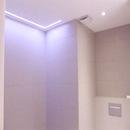foto1417 Baño-Final / Detalle techo en baño con iluminación con led y extractor silencioso S&P