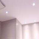 foto1424 Baño-Final / Iluminación en baño con halógenos led y extracto silenciso