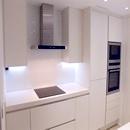foto1442 Cocina-Final / Vista bancada de trabajo con mobiliario marca alemana Häcker