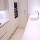 foto1446 Cocina-Final / Vista superior con península integrada en cocina