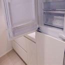 foto1452 Cocina-Final / Detalle de Frigofíco integrald con puerta abierta