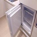foto1456 Cocina-Final / Detall de puerta de congelador integrado en moviliario