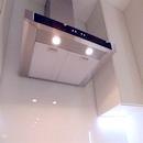 foto1462 Cocina-Final / Vista de campana extractora desde bajo