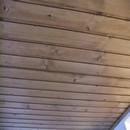 foto1500 Terraza-Finales / Techo con friso de madera reparado y restaurado en terraza apartamentos