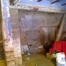 foto1758 Antes-Detalle de planta baja de casa antigua