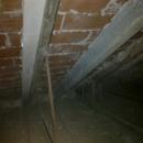 foto1789 Demoliciones-Vista de forjado de cubierta inclinada por hueco interior