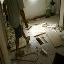 foto1793 Demoliciones-Vista de pavimento y forjado en nivel 1