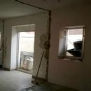 foto1795 Demoliciones-Vista de tubos de desescombro e interior de fachada