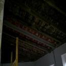 foto1801 Demoliciones-Vista de estructura de cubierta inclinada antigua una vez retirado techos