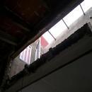 foto1802 Demoliciones-Demolición de tabiquillo en desnivel cubierta inclinada