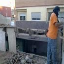 foto1807 Demoliciones-Inicio trabajos retirada cubierta inclinada