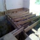 foto1813 Demoliciones-Entramado vigas de madera retiradas