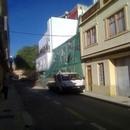 foto1818 Demoliciones-Vista de fachada protegida durantes trabajso de demolición