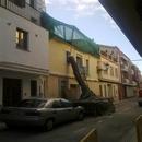foto1820 Demoliciones-Vista de fachada durante trabajos de demolición