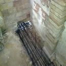 foto1829 Estructuras-Detalle de paso de cimentación entre planta baja vivienda familiar y vivienda rehabilitada